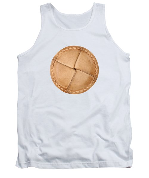 Tank Top featuring the photograph Leather Button by Michal Boubin