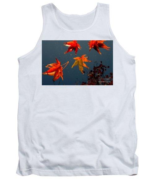 Leaves Falling Down Tank Top