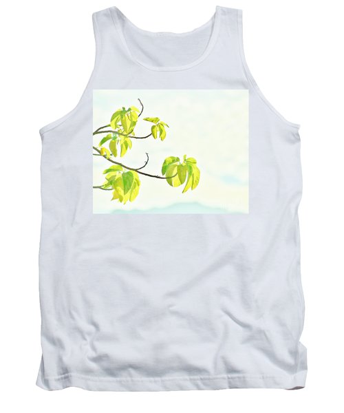 Leaves In The Sun Tank Top by Craig Wood