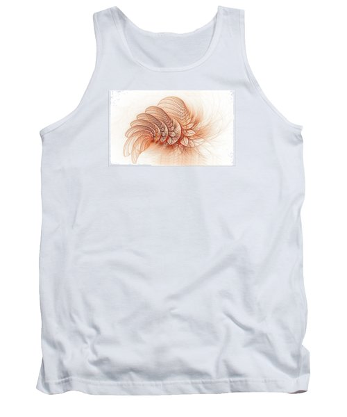 Leaves Of The Fractal Ether-2 Tank Top