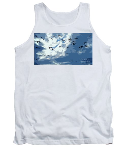 Leaving The Snow Behind Tank Top