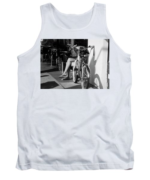Leg Power - B And W Tank Top