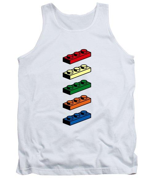 Tank Top featuring the photograph Lego T-shirt Pop Art by Edward Fielding