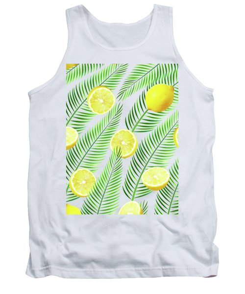 Lemons Tank Top by Uma Gokhale