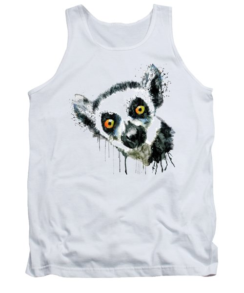 Lemur Head  Tank Top