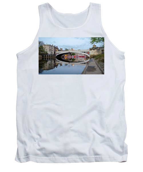 Lendal Bridge Reflection  Tank Top