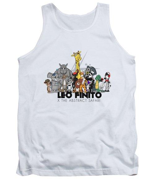 Leo Finito And The Abstract Safari Tank Top