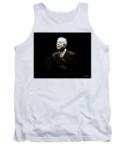Portrait Of Leonard Cohen Tank Top
