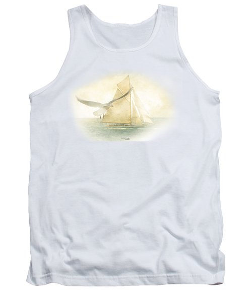 Tank Top featuring the painting Let Your Spirit Soar by Chris Armytage