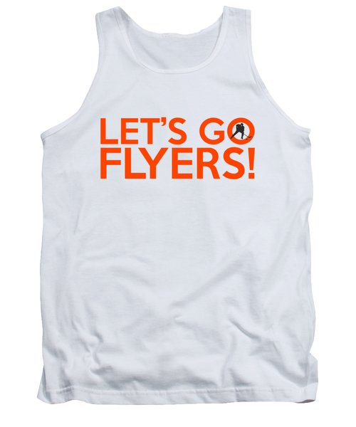 Let's Go Flyers Tank Top
