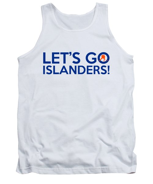 Let's Go Islanders Tank Top by Florian Rodarte