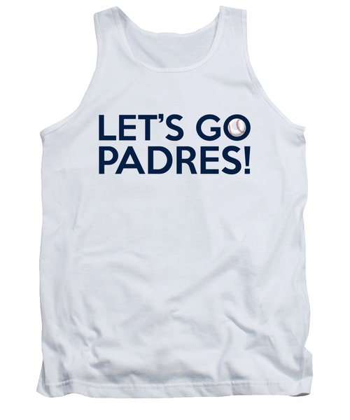 Let's Go Padres Tank Top