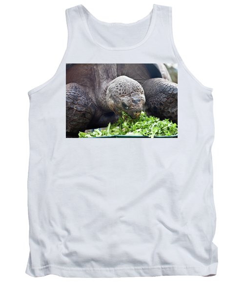 Tank Top featuring the photograph Lettuce Makes You Strong by Miroslava Jurcik