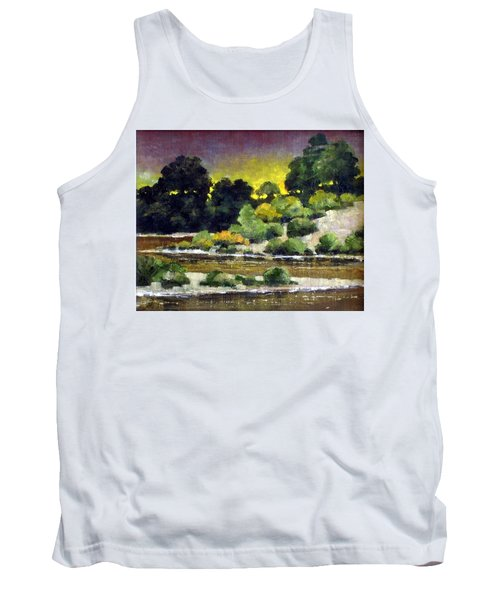 Lewis River At Woodland Tank Top