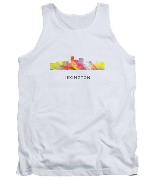 Lexington Kentucky Skyline Tank Top