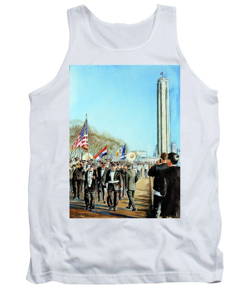 Liberty Memorial Kc Veterans Day 2001 Tank Top