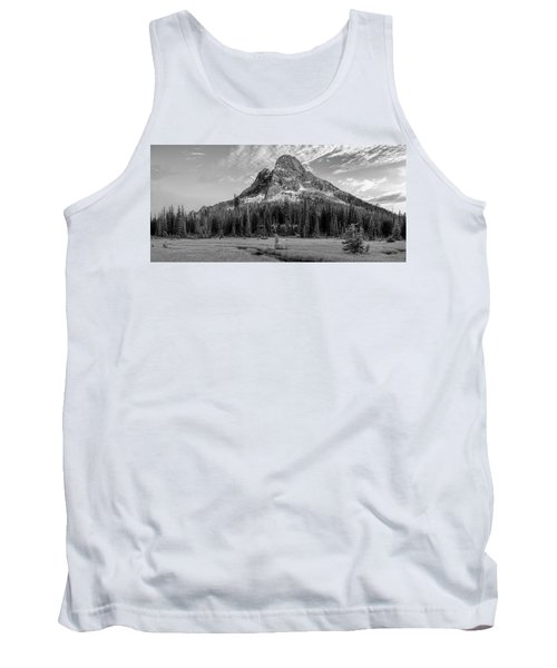 Liberty Mountain At Sunset Tank Top