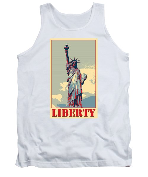 Tank Top featuring the photograph Liberty by Richard Reeve