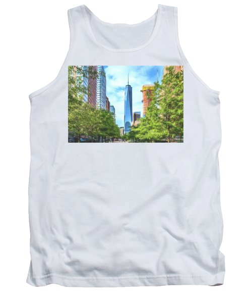 Tank Top featuring the photograph Liberty Tower by Theodore Jones