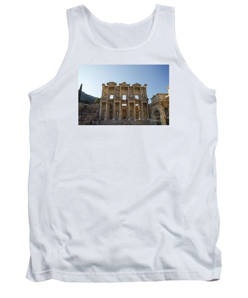 Tank Top featuring the photograph Library Of Ephesus Or Celsus by Yuri Santin