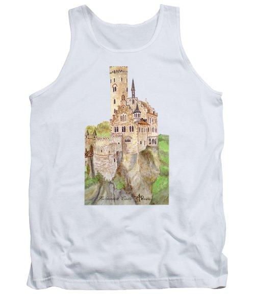 Lichtenstein Castle Tank Top by Angeles M Pomata