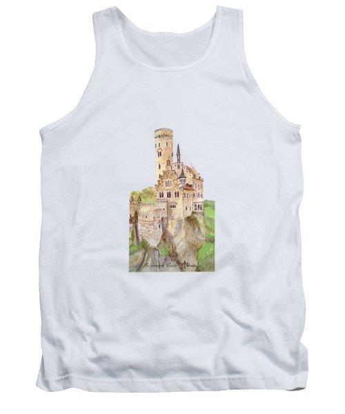 Lichtenstein Castle Tank Top