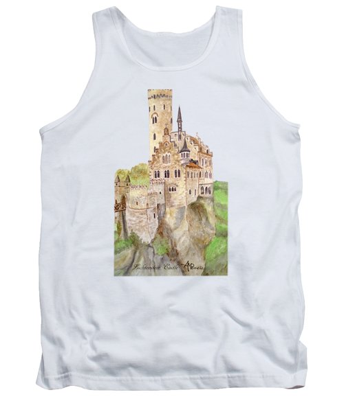 Lichtenstein Castle Tank Top
