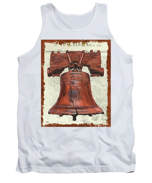 Life And Liberty Tank Top by Debbie DeWitt