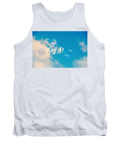 Life Is A Game Tank Top