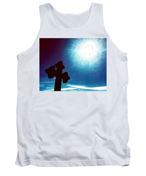 Light And Shadow Clash Tank Top