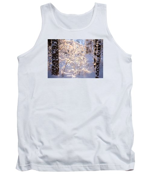 Tank Top featuring the photograph Light Of Winter by Rose-Maries Pictures