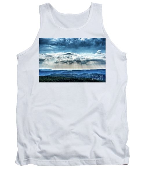 Tank Top featuring the photograph Light Rains Down by Thomas R Fletcher
