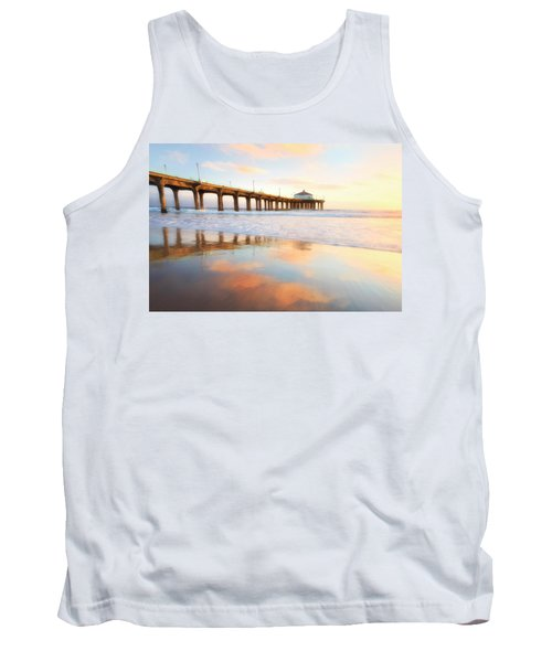 Light Reflections Tank Top by Nicki Frates