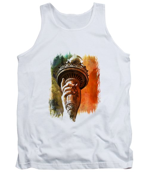 Light The Path Art 1 Tank Top