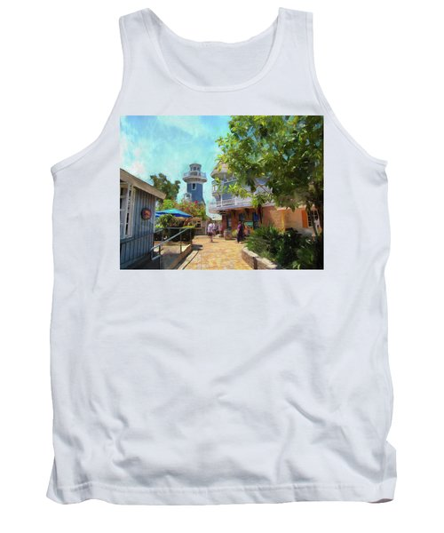 Lighthouse At Seaport Village Tank Top
