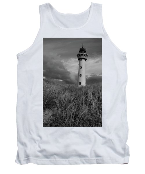 Lighthouse Bw Tank Top