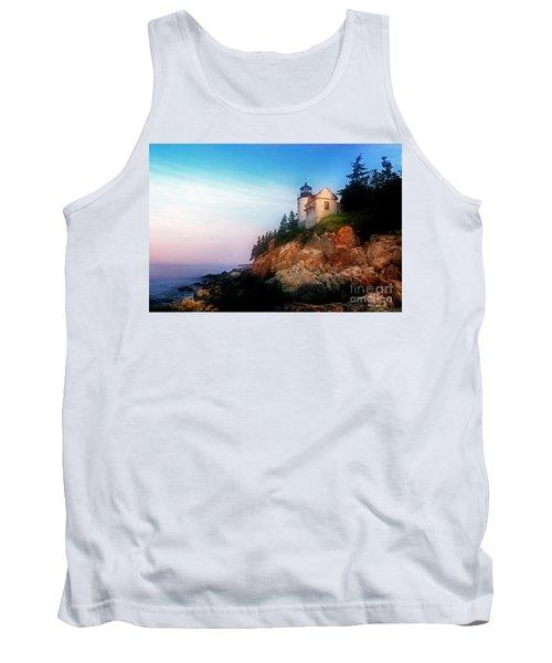 Lighthouse Sunrise Tank Top