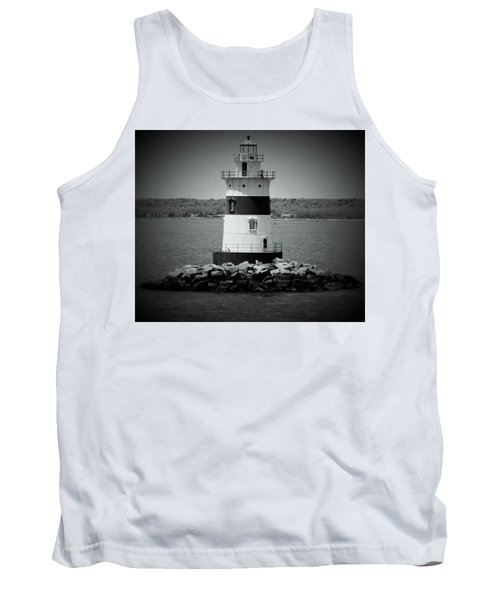 Lights Out-bw Tank Top