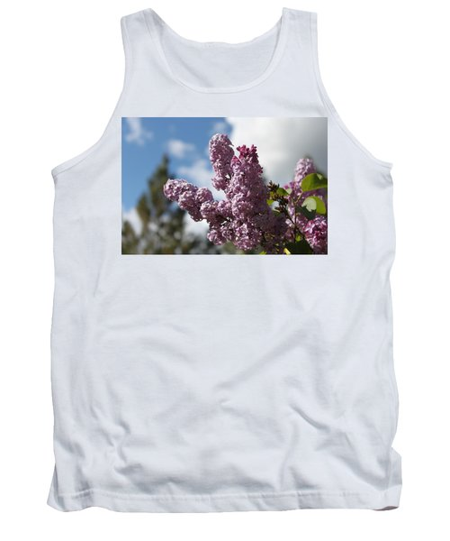Tank Top featuring the photograph Lilacs 5547 by Antonio Romero