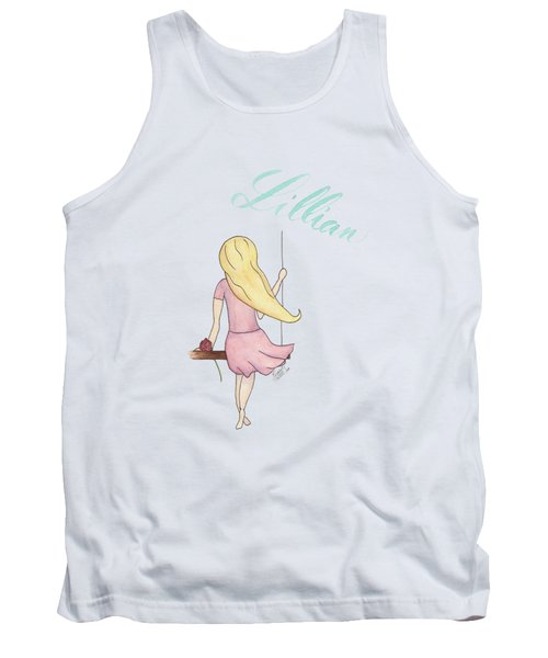 Lillian No Background Tank Top