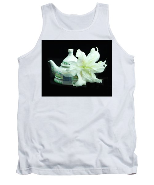 Lily And Teapot Tank Top