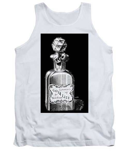 Tank Top featuring the digital art Lily by ReInVintaged