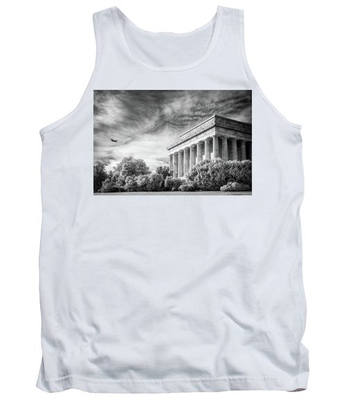 Lincoln Memorial Tank Top by Paul Seymour