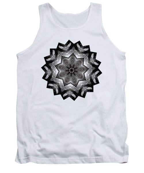 Lines In A Star By Kaye Menner Tank Top