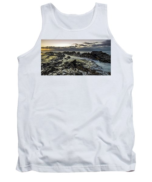 Lines Of Time Tank Top by Mark Lucey