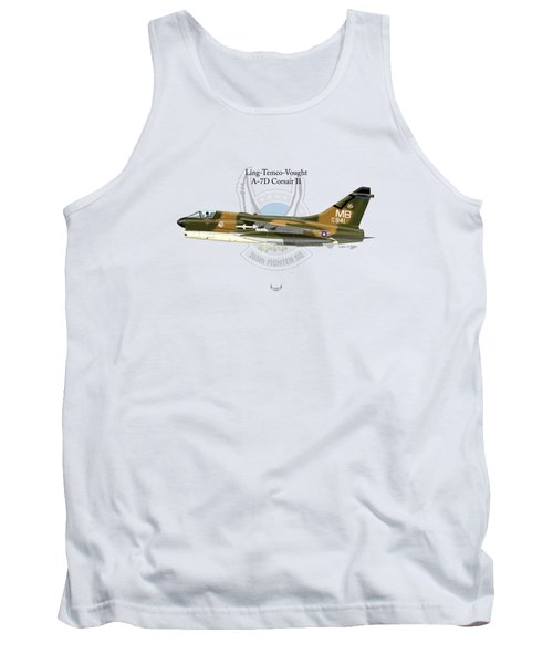 Ling-temco-vaught A-7d Corsair Tank Top
