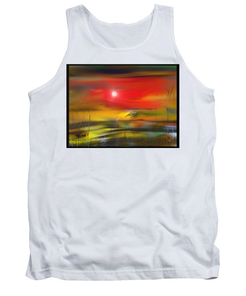 Midnight Flame Tank Top