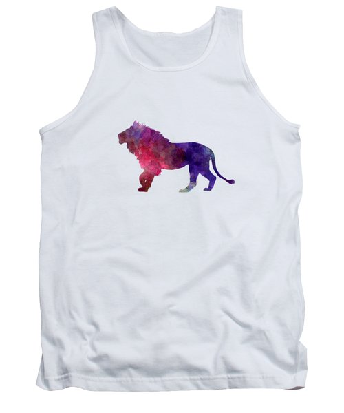 Lion 01 In Watercolor Tank Top