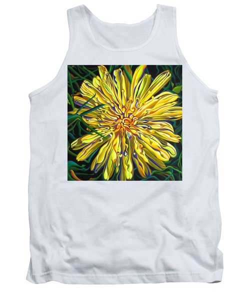 Lion In The Grass Tank Top