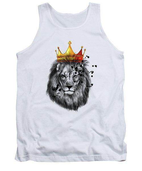 Lion King  Tank Top by Mark Ashkenazi